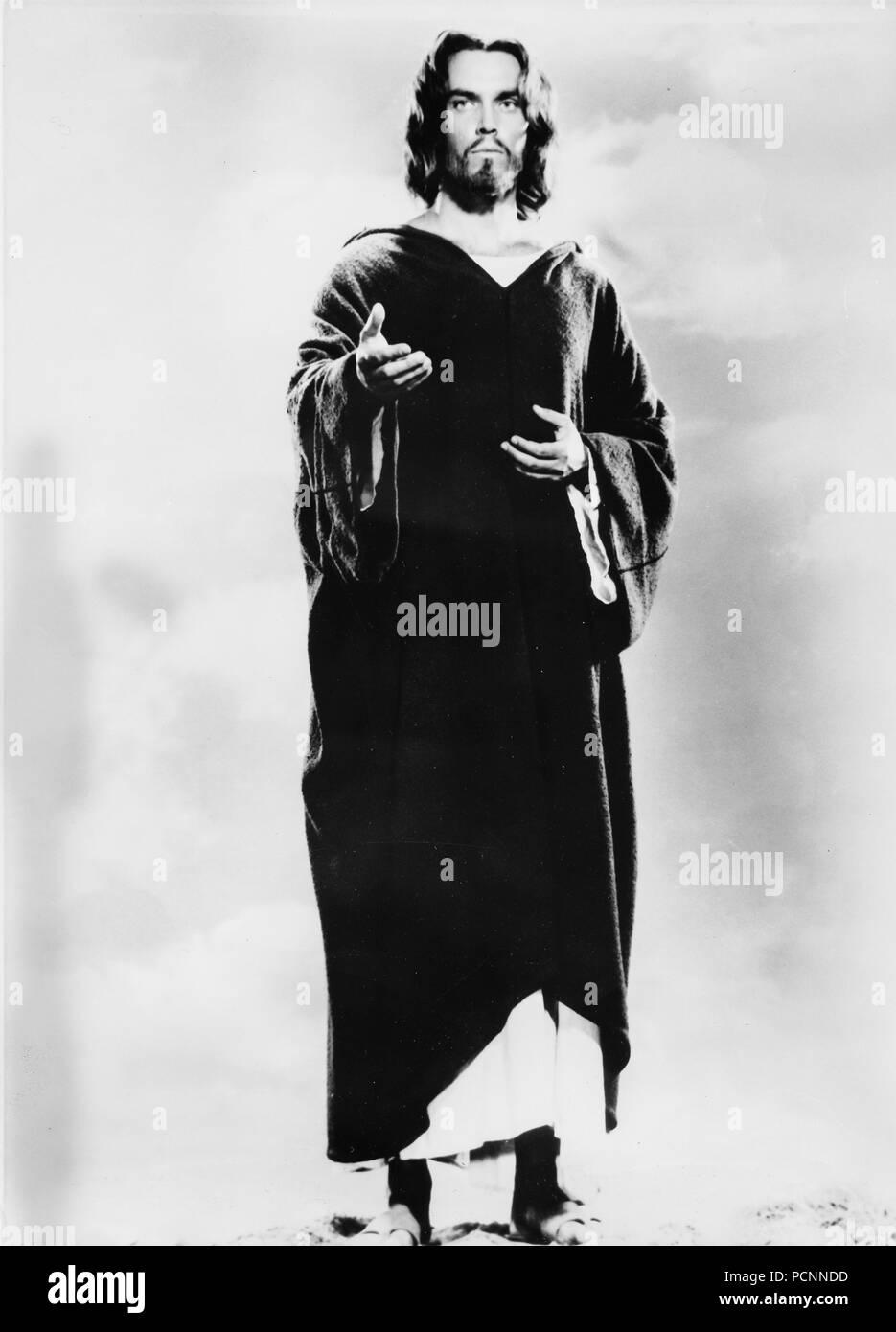 jeffrey hunter, king of kings, 1961 - Stock Image