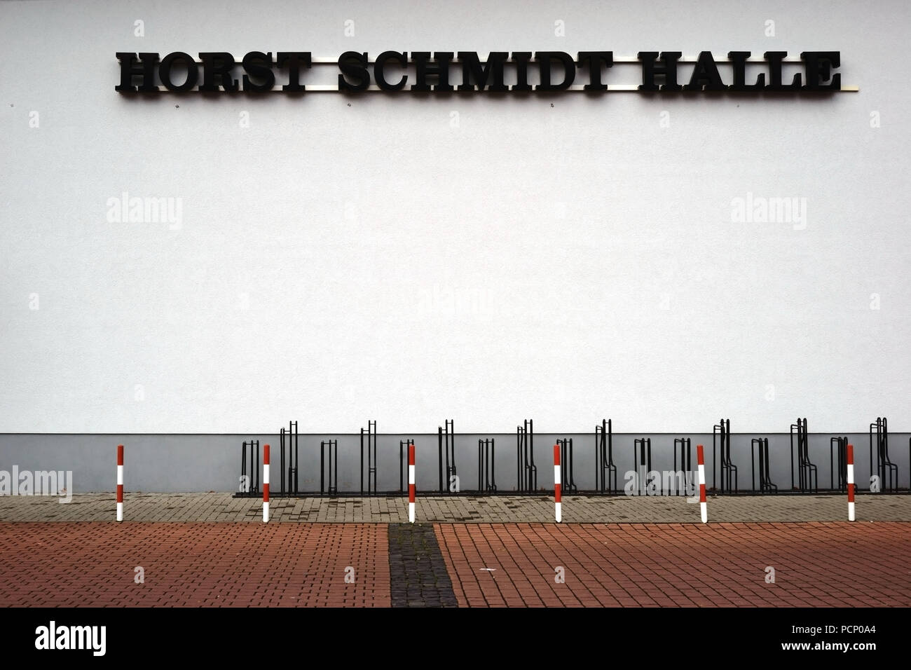 The Horst-Schmidt hall -  a venue for sports clubs and sportive activities in Griesheim - Stock Image