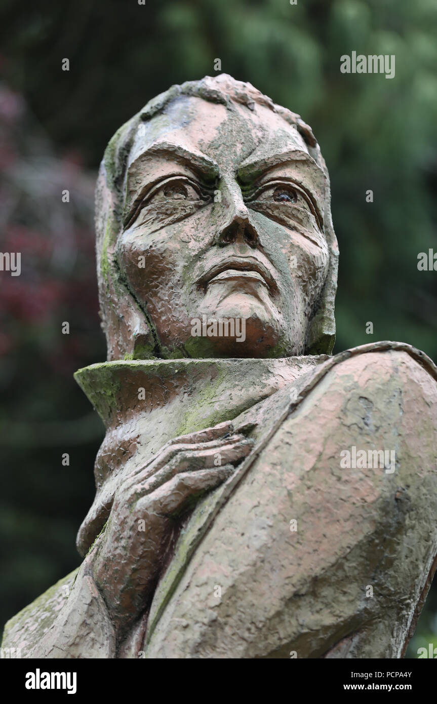 John Duns is generally considered to be one of the three most important philosopher-theologians of the High Middle Ages - Stock Image