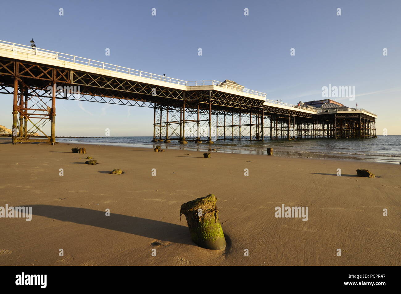 Cromer pier. Norfolk , UK, - Stock Image