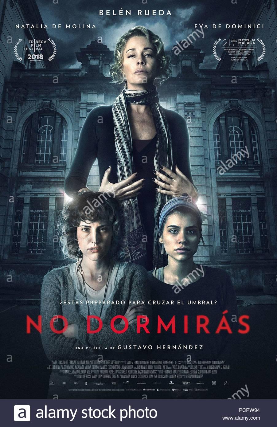 Resultado de imagem para No Dormirás Gustavo Hernández poster