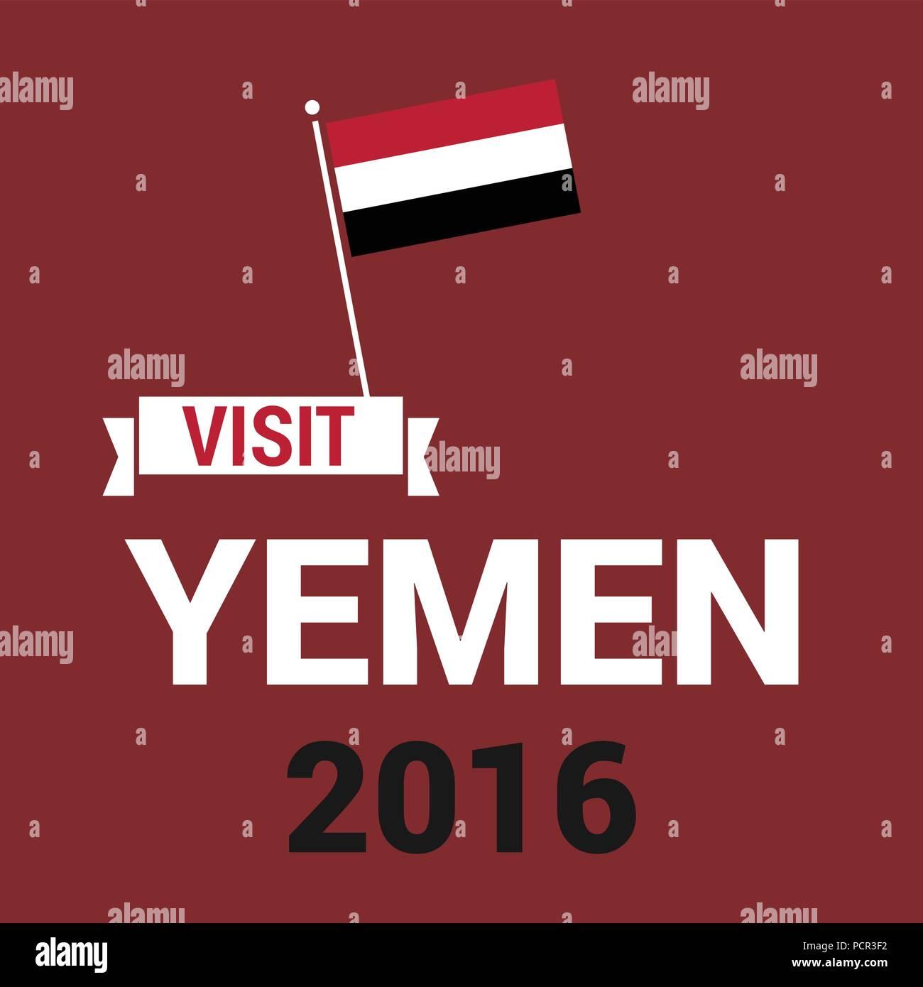 Yemen Independence day design card vector - Stock Vector