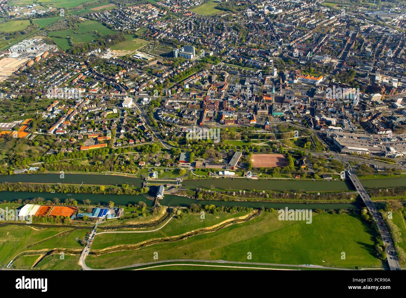 Hamm, Ruhr area, North Rhine-Westphalia, Germany - Stock Image