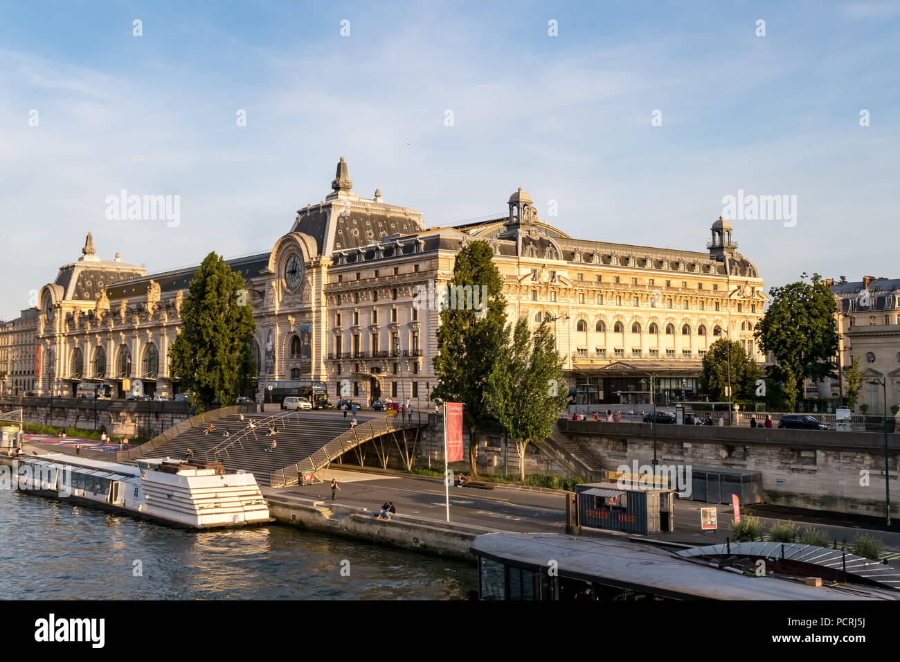 Musee d'Orsay - Paris, France - Stock Image