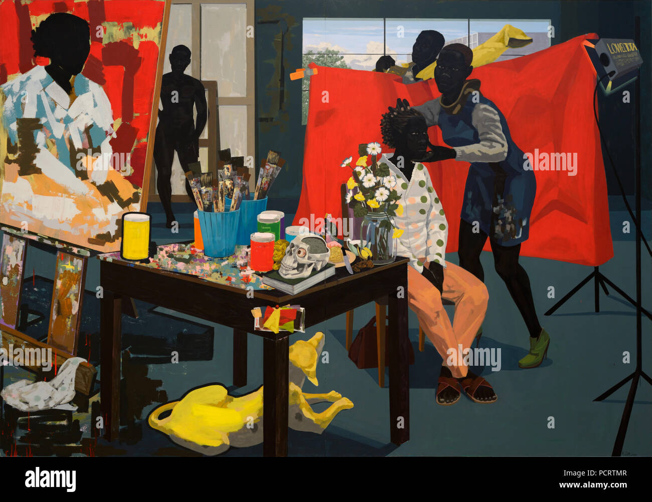 Untitled (Studio) by Kerry James Marshall - Stock Image