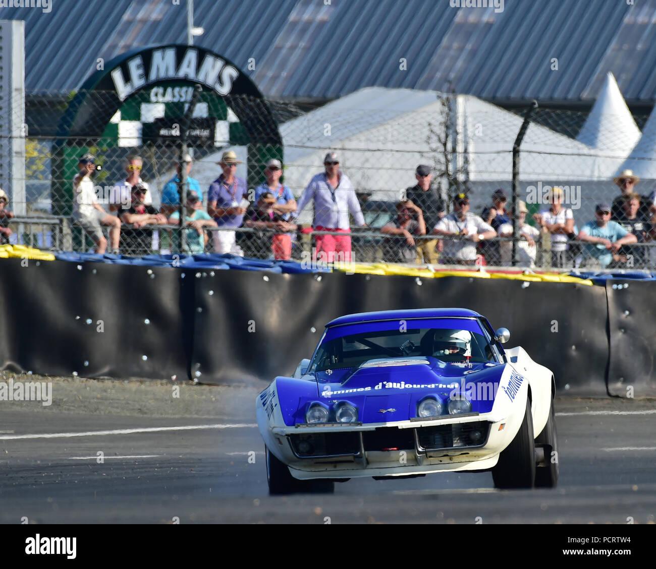 Maverick, Chevrolet Corvette C3, Plateau 5, Grid 5, 1966 - 1971, Le