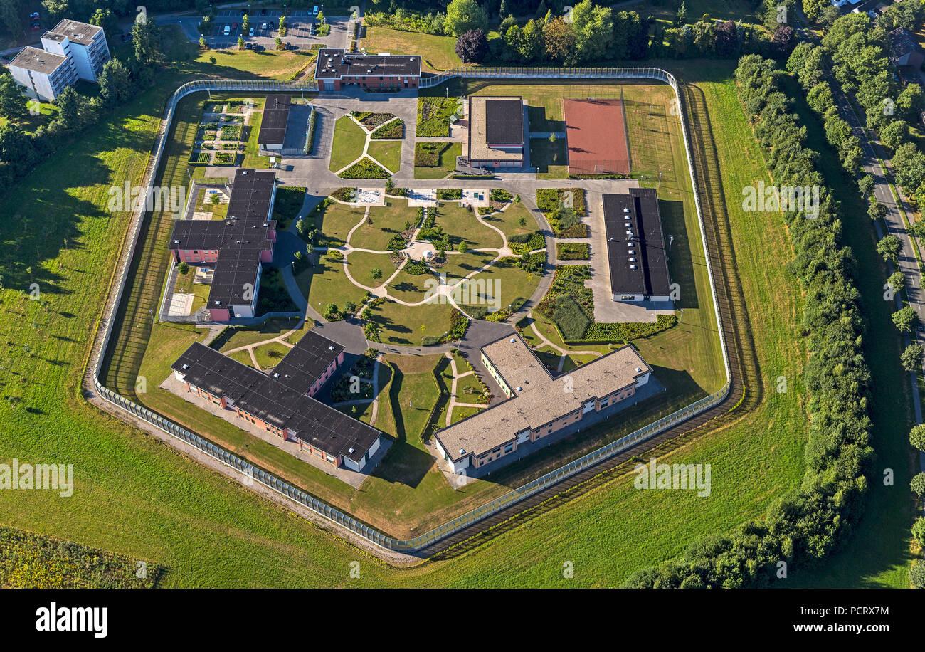 Forensic Psychiatry, Rhineland Regional Council, New Forensics, LVR Bedburg Hau Forensics, Bedburg-Hau, Lower Rhine, North Rhine-Westphalia, Germany, Europe - Stock Image