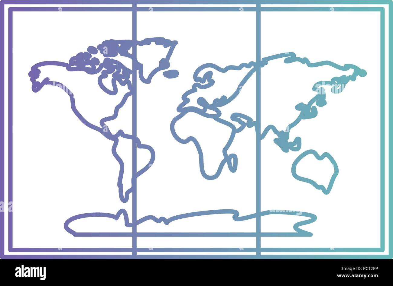 paper map guide icon - Stock Vector