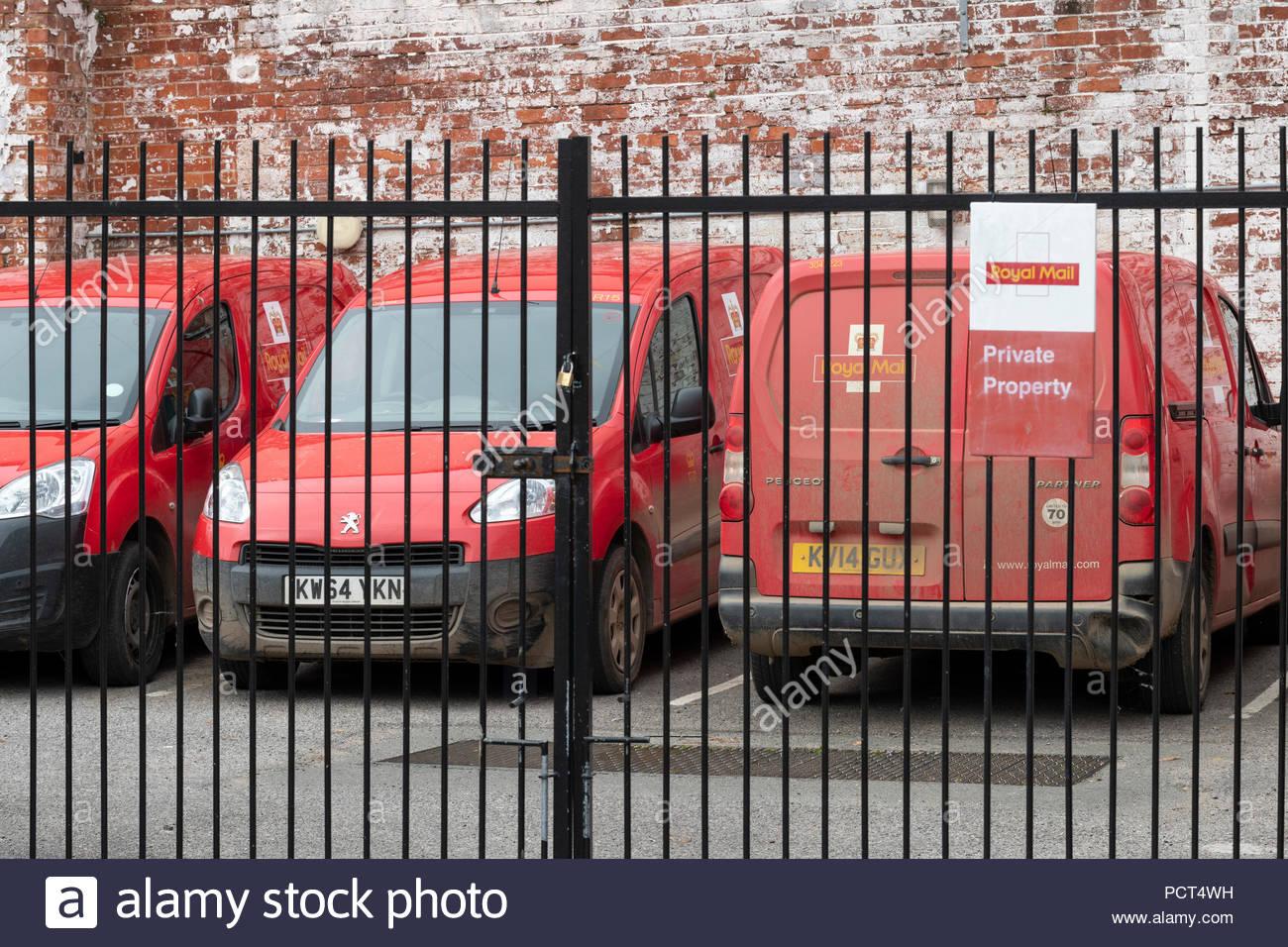Post Office yard, Bridport, Dorset, England, Britain, Europe UK GB - Stock Image