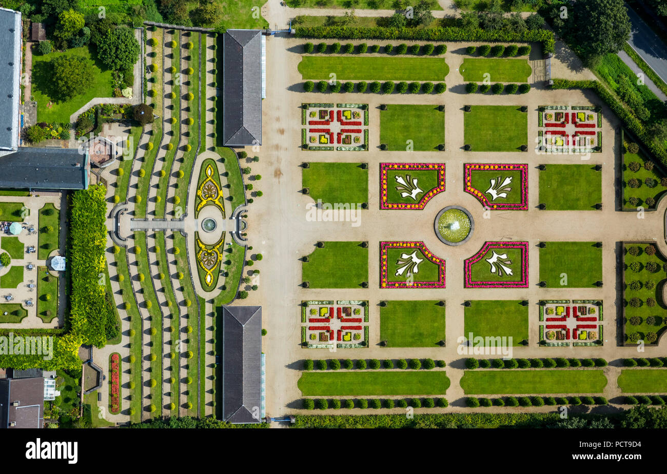Beau Aerial Photo, Kamp Abbey With Terraced Gardens And French ...