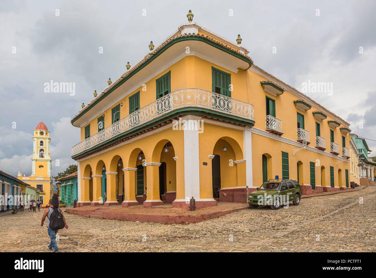 Museo Romantico.Museo Romantico Palacio Brunet Built In 1740 Trinidad Sancti