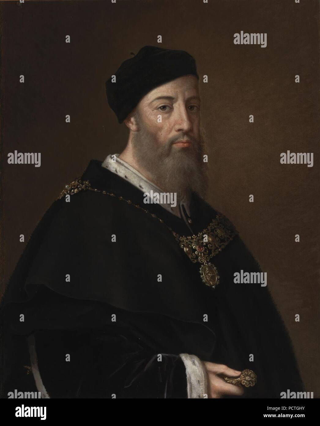 Alonso Gurrea de Aragón, conde de Ribagorza y duque de Luna (Museo del Prado). - Stock Image