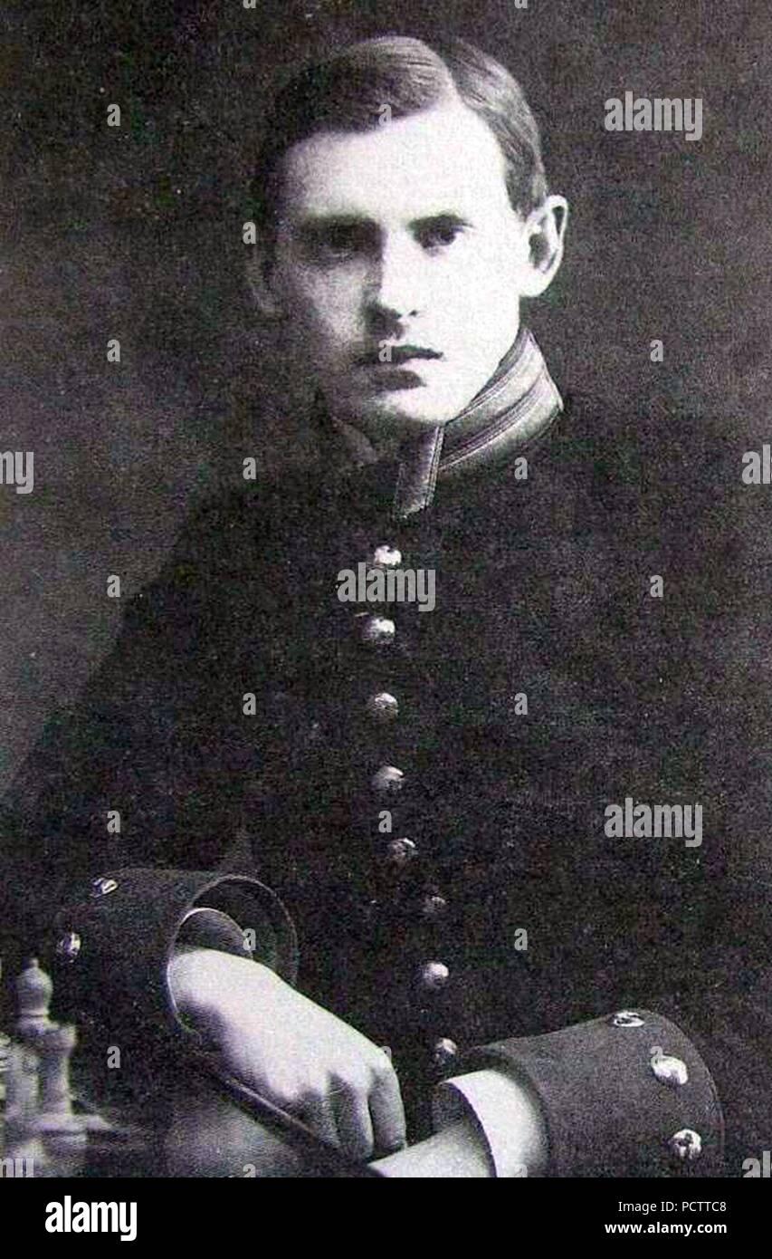 Aliochin A.A. 1909 Karl Bulla. - Stock Image