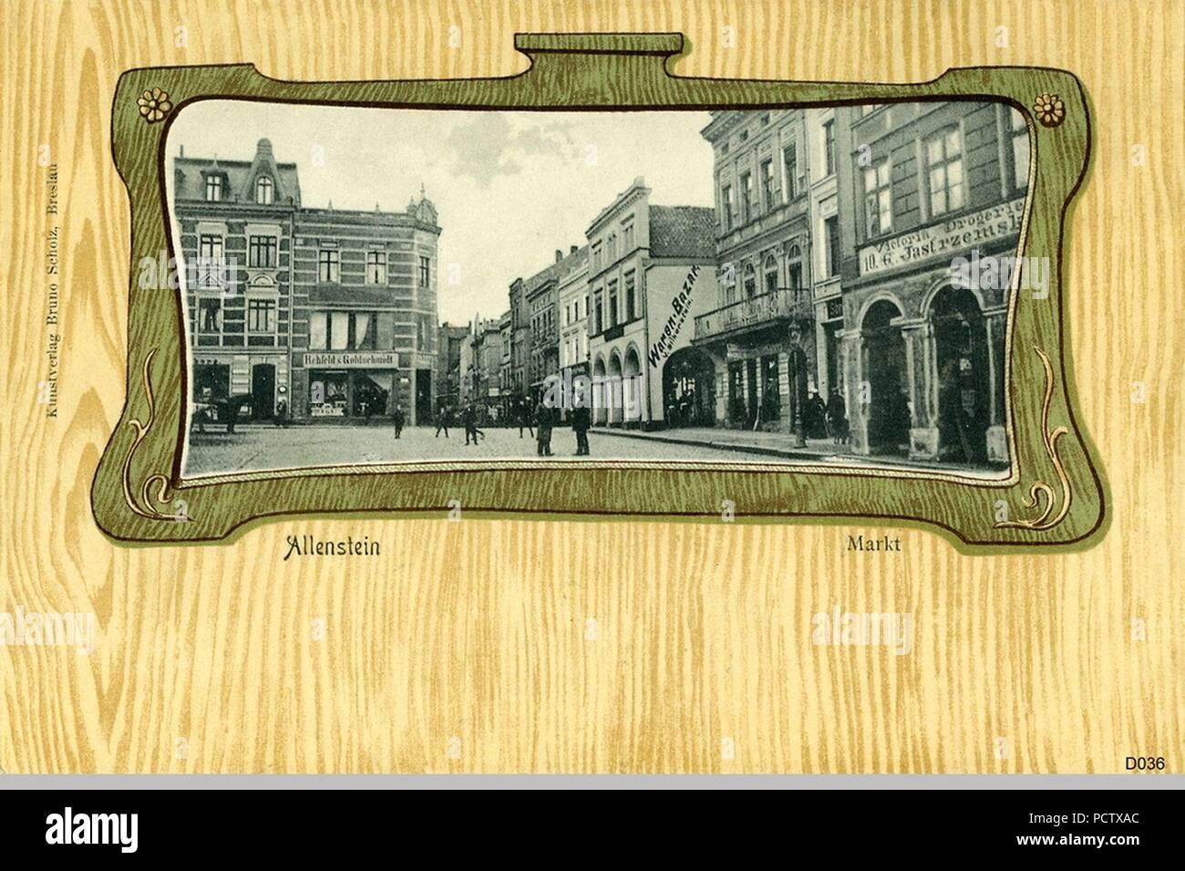 Allenstein (6). - Stock Image