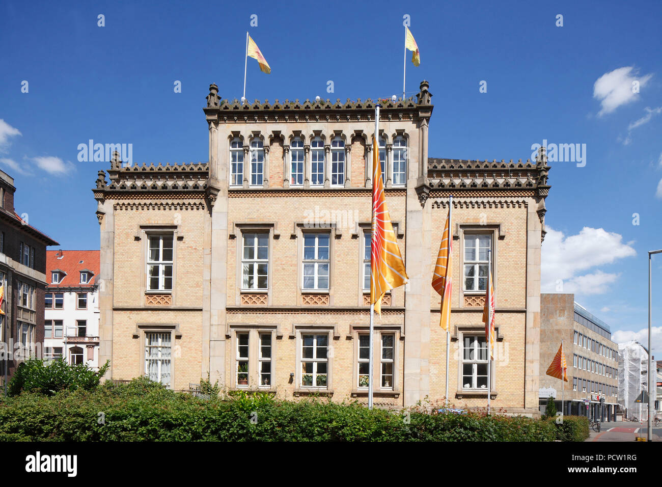 The Palais Grote, also: Grote-Palais, former aristocratic palace, Hannover, Lower Saxony, Germany, Europe - Stock Image