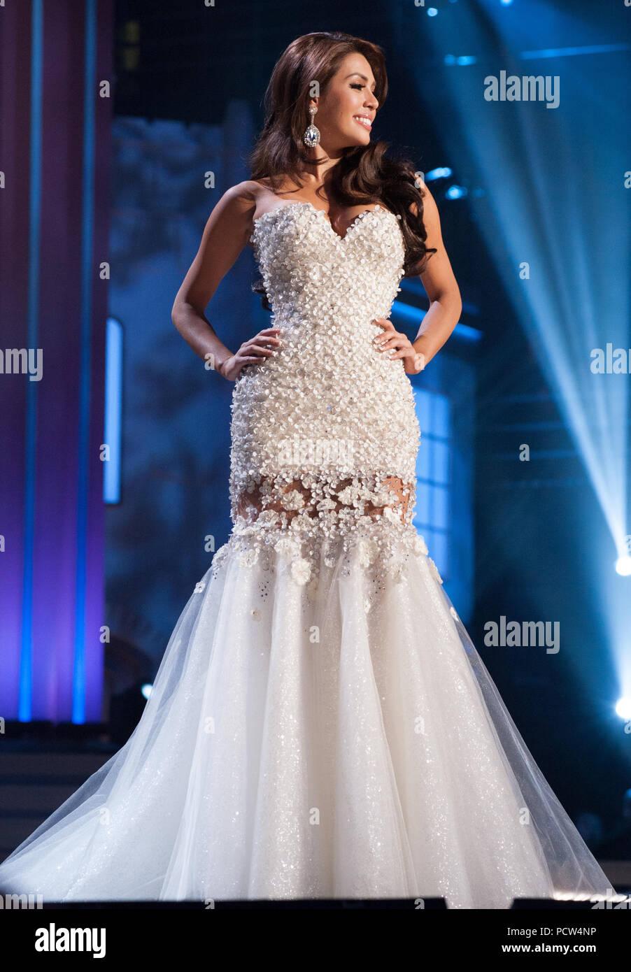 DORAL, FL - JANUARY 25: Mary Jean Lastimosa, Miss Philippines 2014 ...