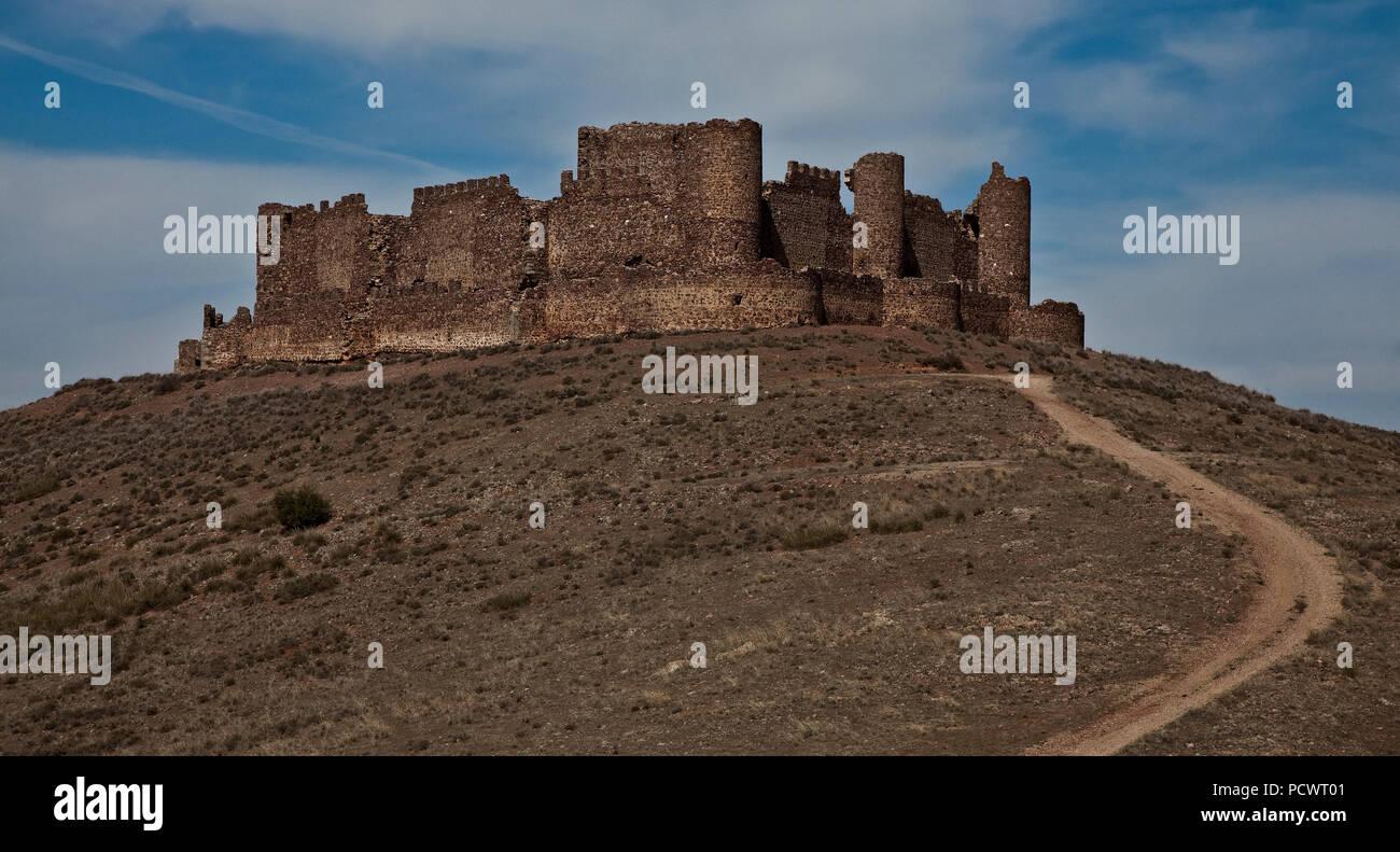 Castillo de Penas Negras Außenansicht - Stock Image