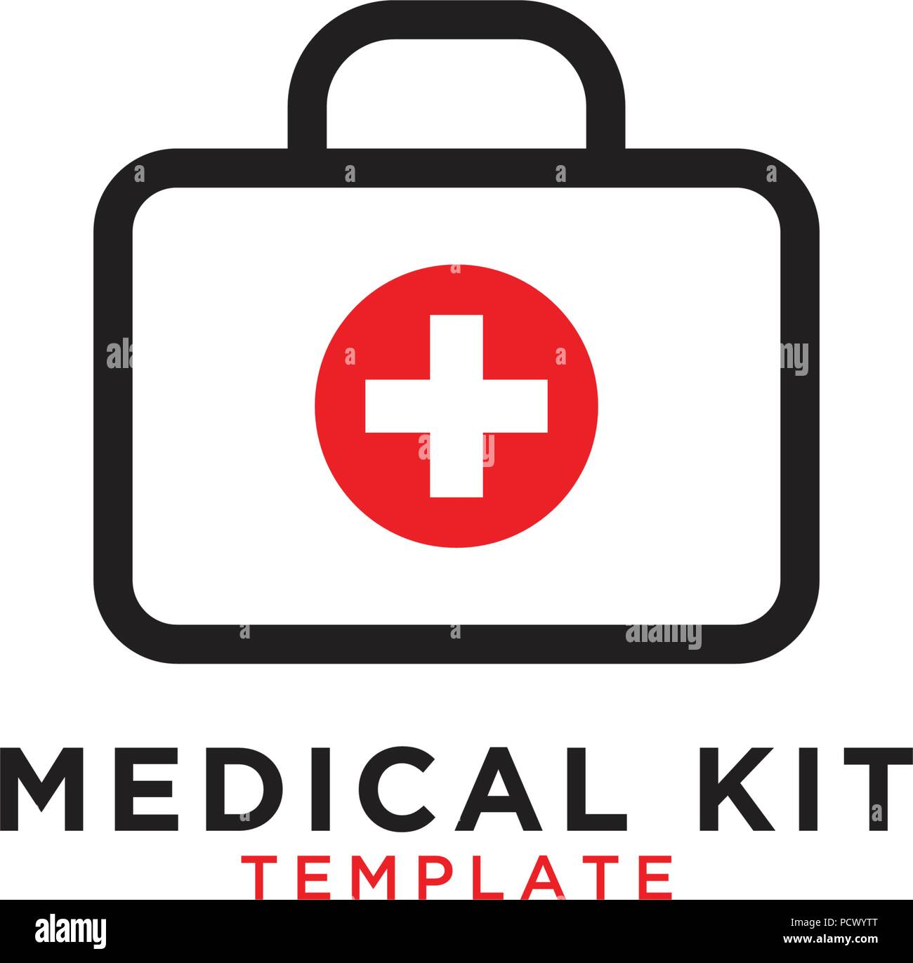 Medical first aid kit graphic design template stock vector art medical first aid kit graphic design template maxwellsz