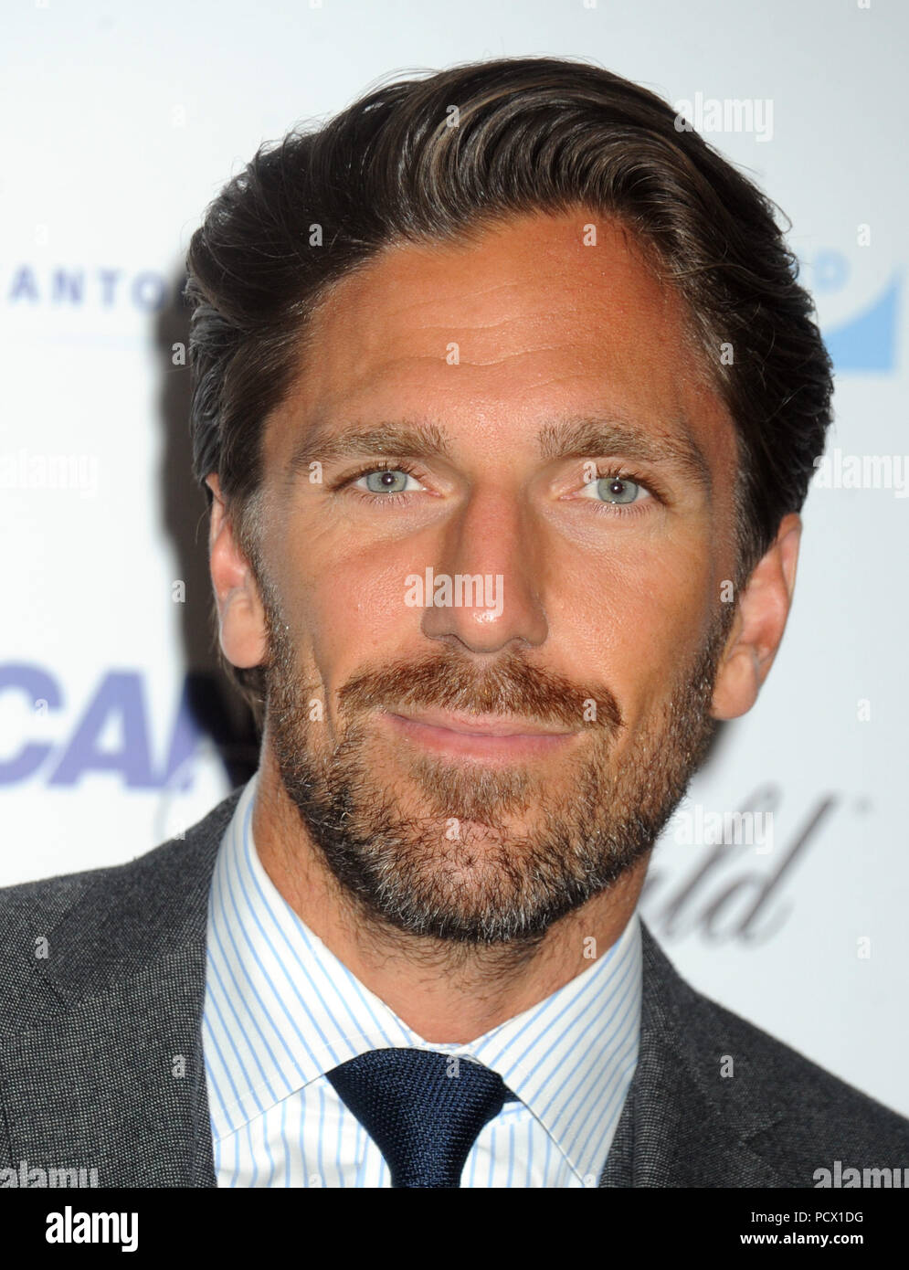 New York Ny September 11 Henrik Lundqvist Attends Annual Charity