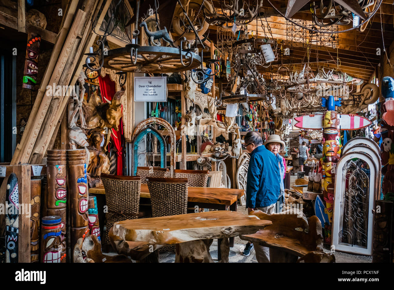 Primitive Design Is An Unique Art And Home Decor Store In Hope Port Canada Stock Photo Alamy