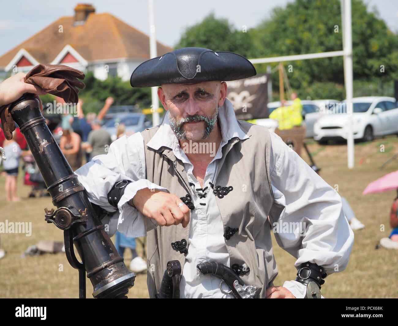 Pirate Reenactment Stock Photos & Pirate Reenactment Stock
