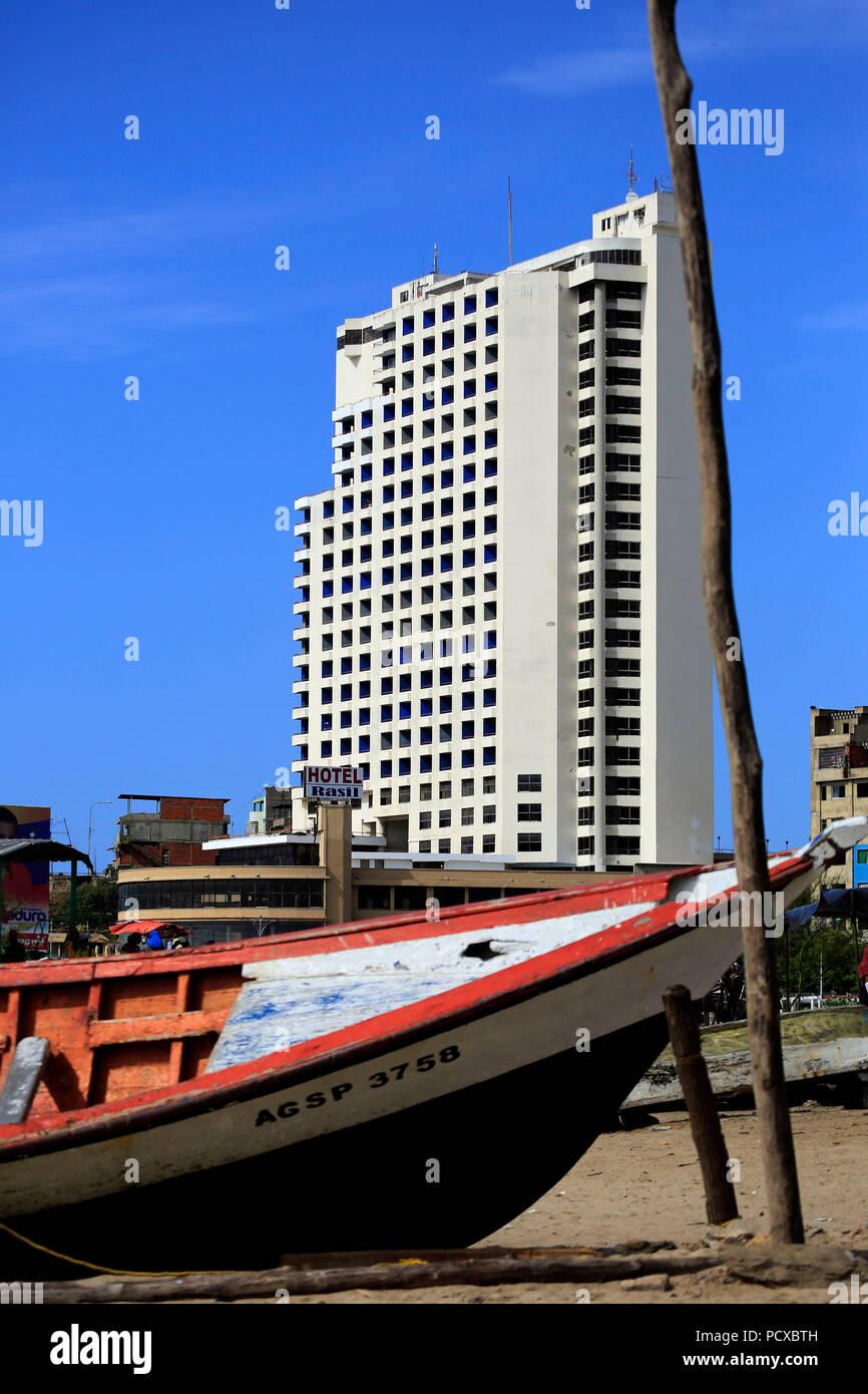 Puerto La Cruz Anzoategui Venezuela 3rd Aug 2018 August 03 Excellent The Rasil Hotel Is An Impressive Building With 25 Floors And 347 Rooms