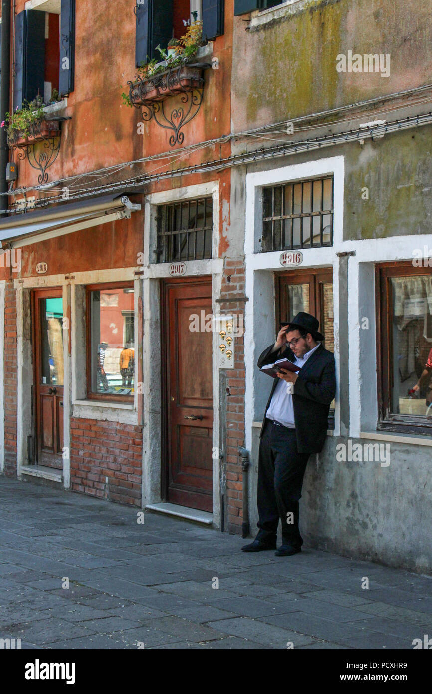 Jew in Venice - Stock Image