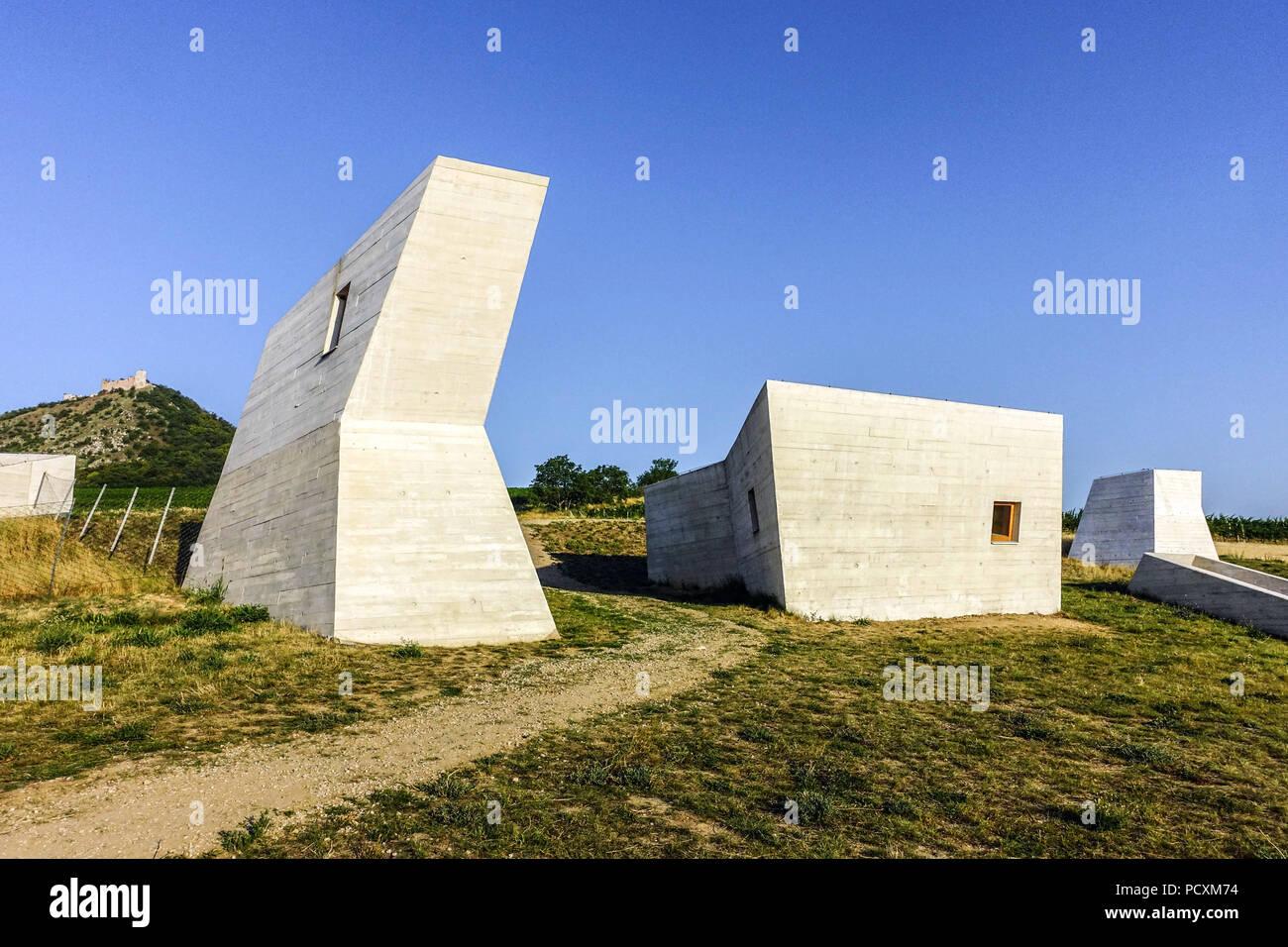 Archeopark Pavlov, Palava region, South Moravia, Czech republic - Stock Image