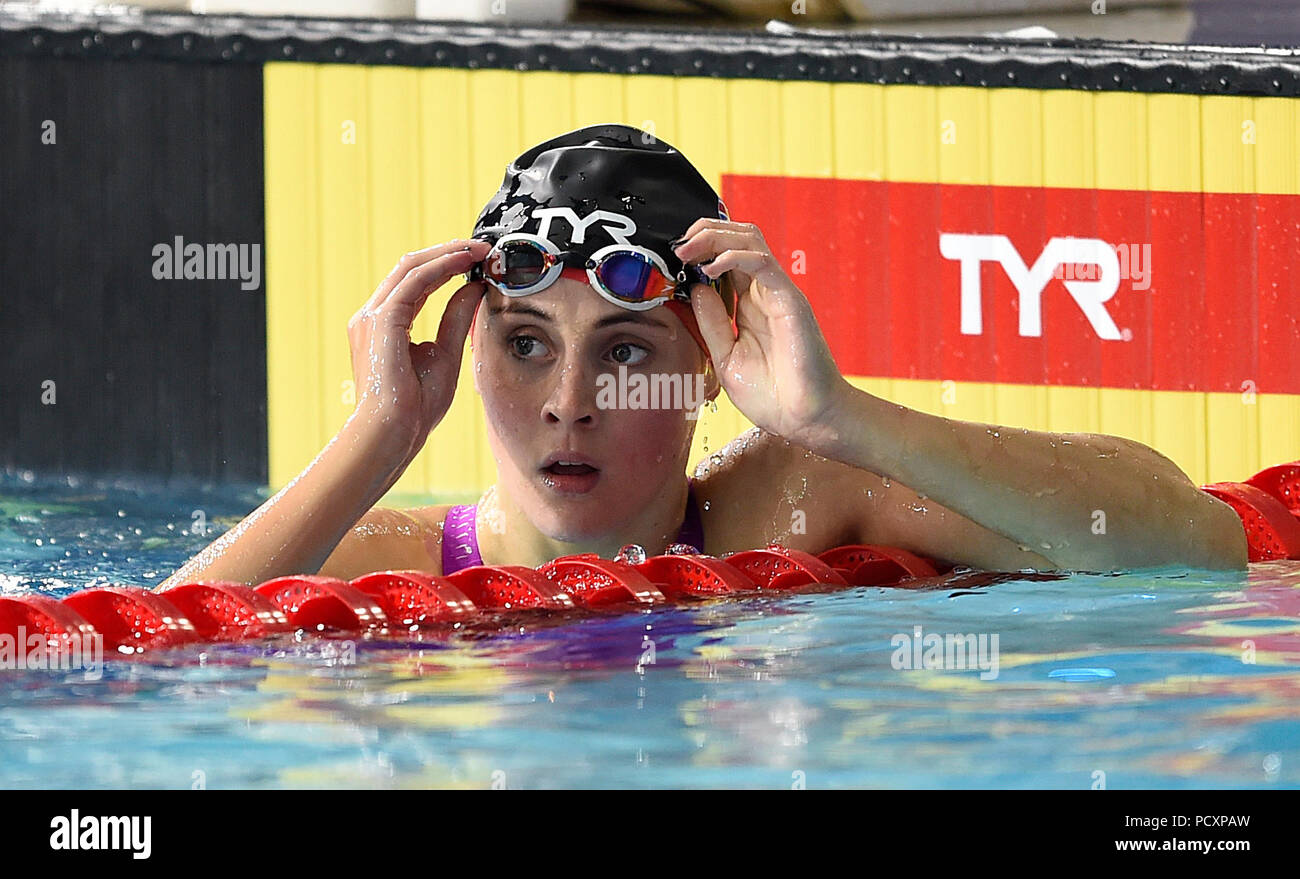 ad2054eef5ae Great Britain s Siobhan-Marie O Connor after winning the Women s 100m  Breaststroke Semi-