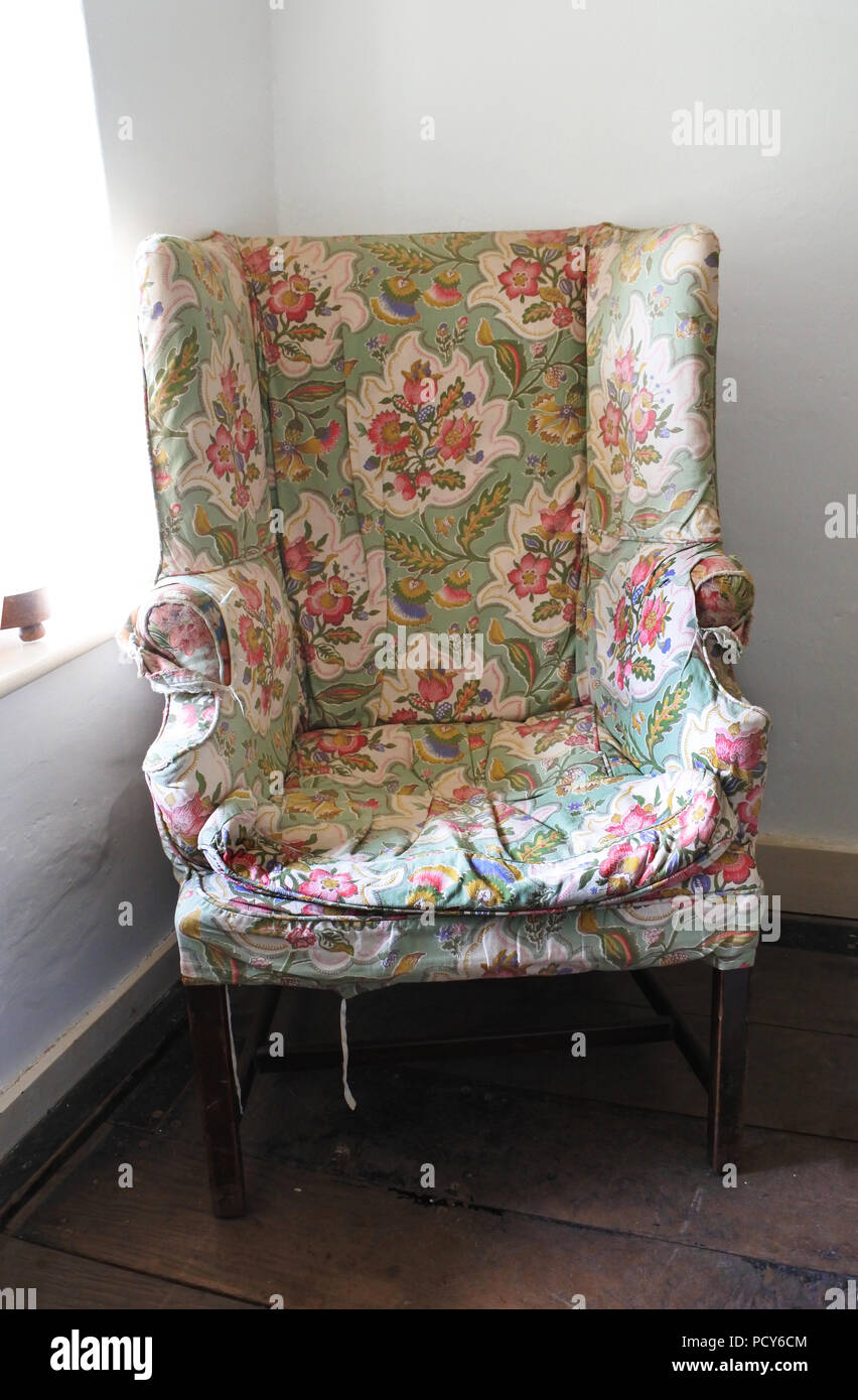 An Old Used Armchair John Gollop Stock Photo 214498052 Alamy