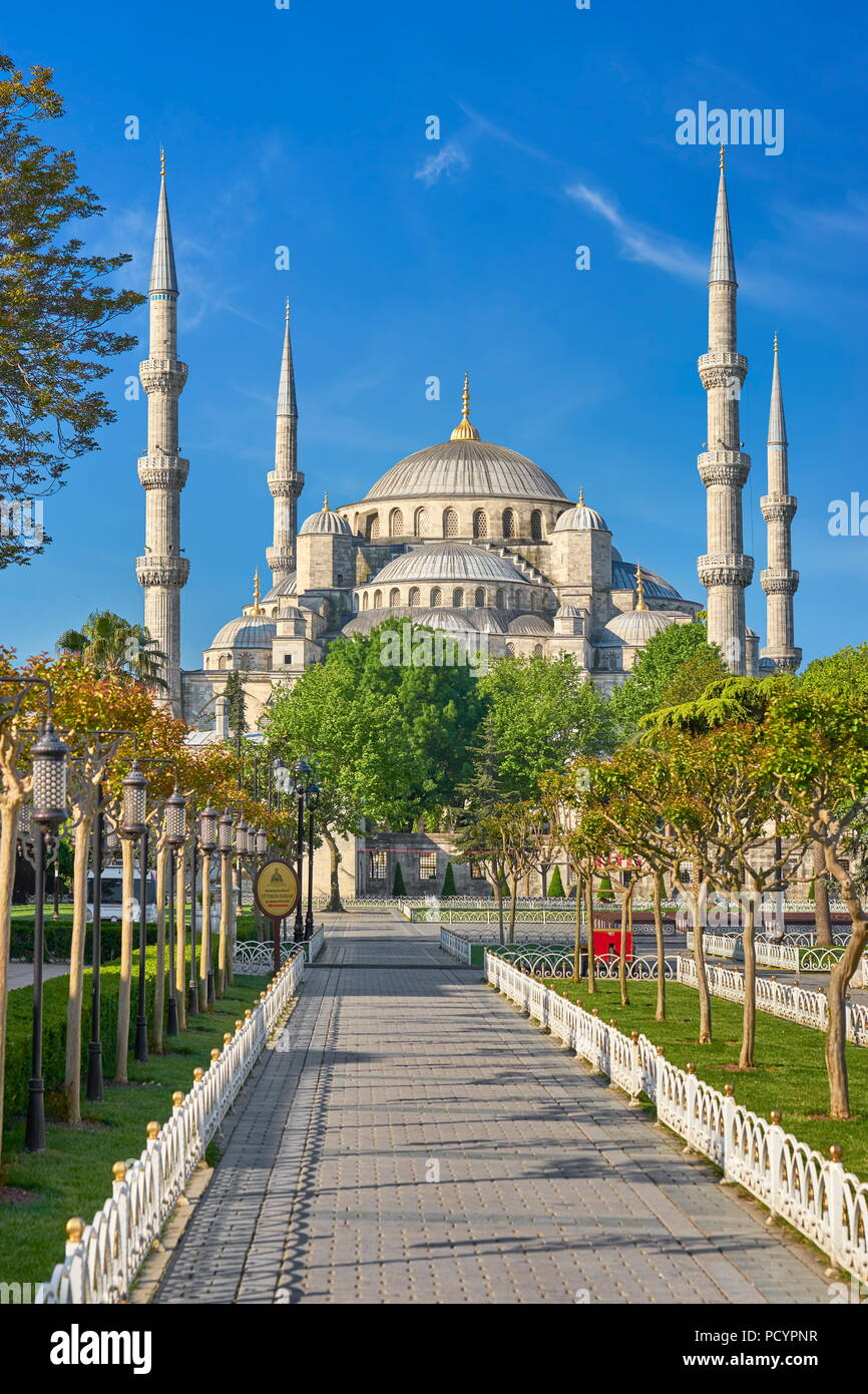 Blue Mosque, Sultan Ahmed Mosque, UNESCO World Heritage ...
