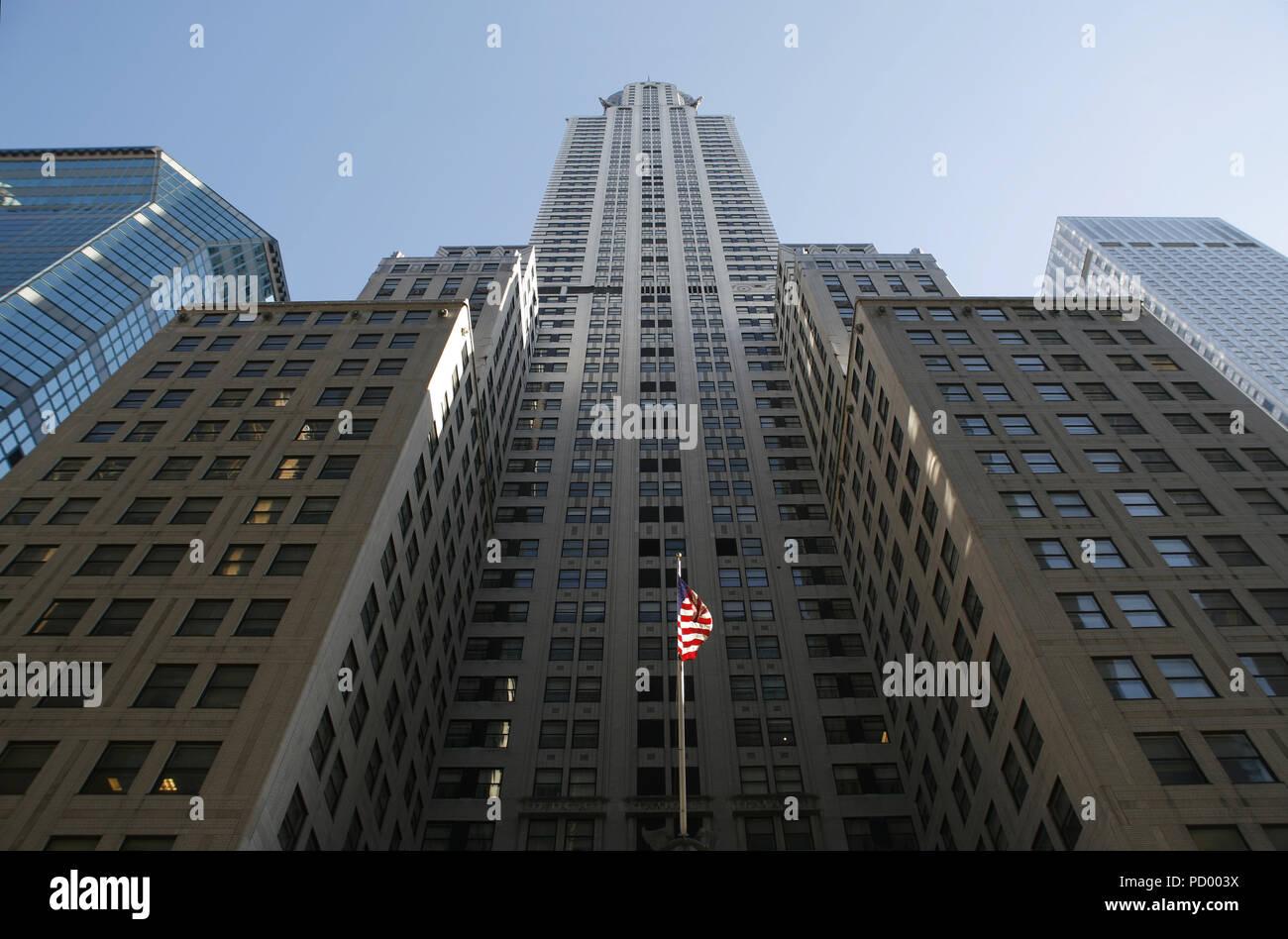 The Chrysler Building - Stock Image