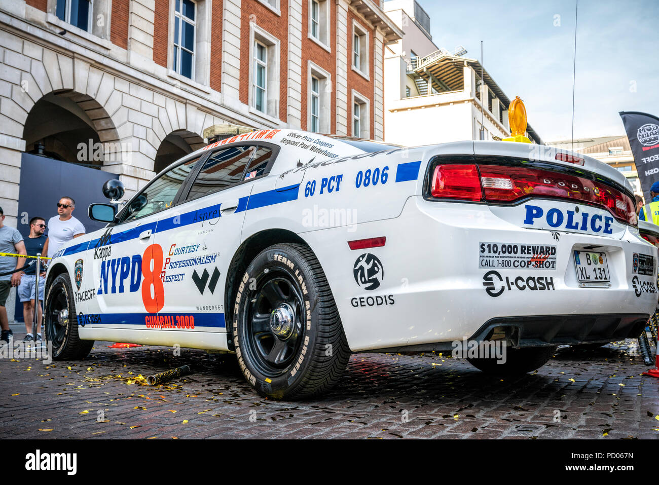 dodge charger police car in stock photos dodge charger police car in stock images alamy. Black Bedroom Furniture Sets. Home Design Ideas