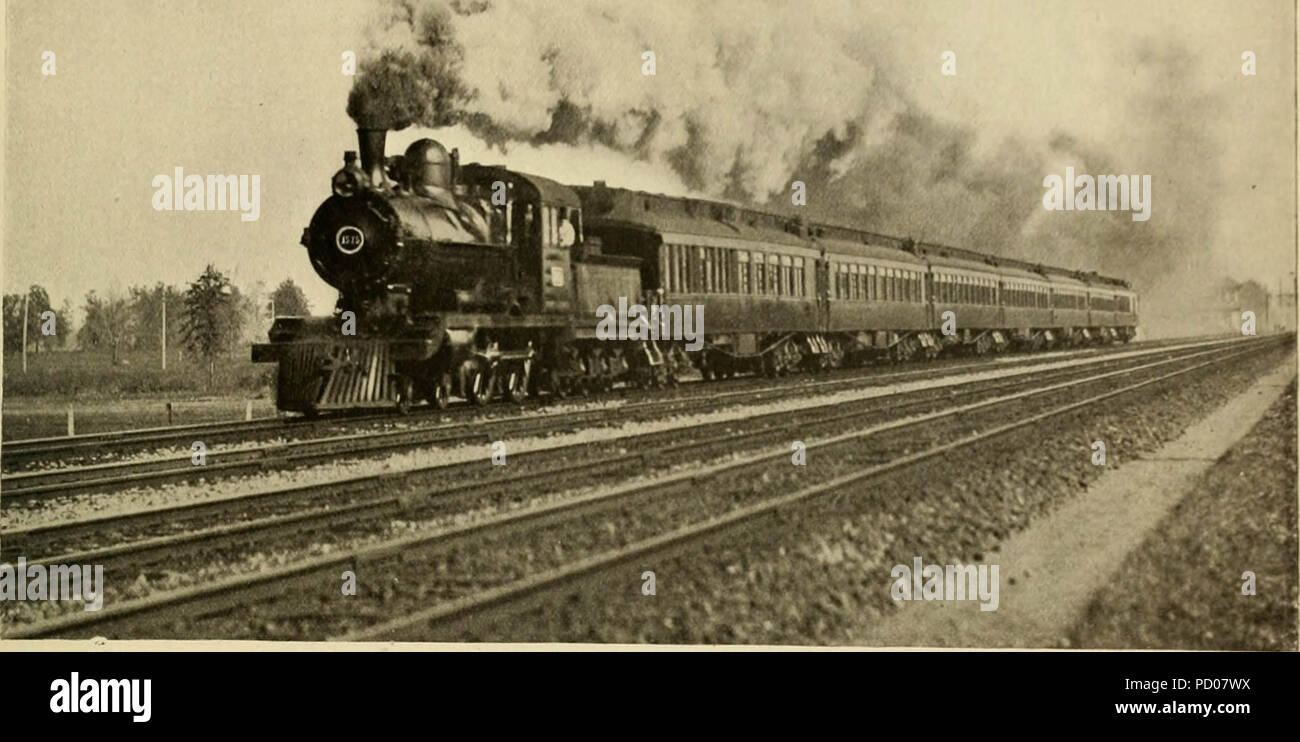 """""""Locomotive engineering : a practical journal of railway motive power and rolling stock"""" (1892) Stock Photo"""