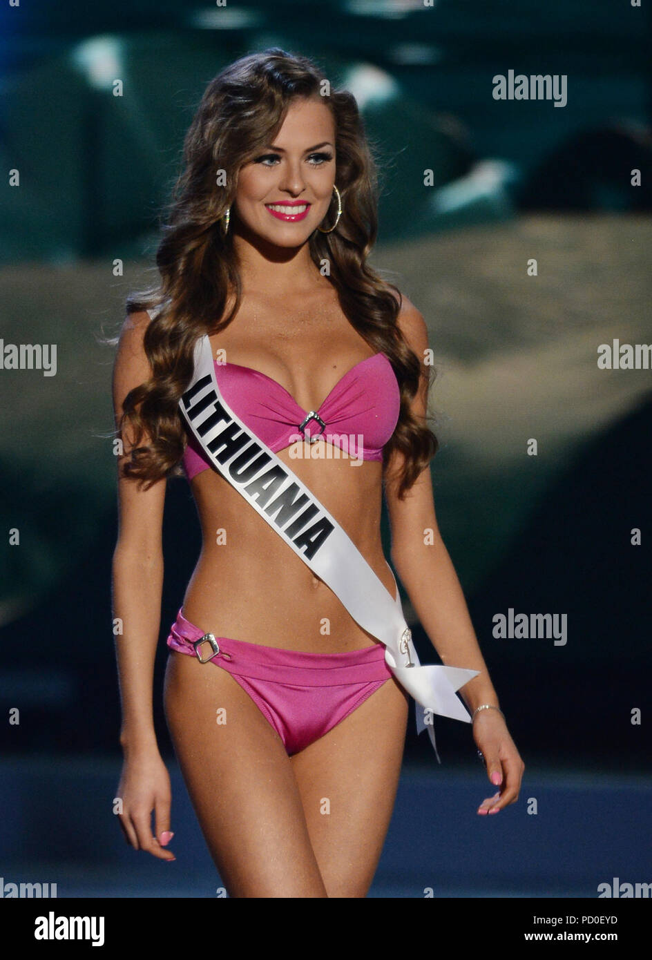 Miss lithuania stock photos miss lithuania stock images alamy miami fl january 21 miss lithuania patricija belousova 2014 competes in the the publicscrutiny Choice Image