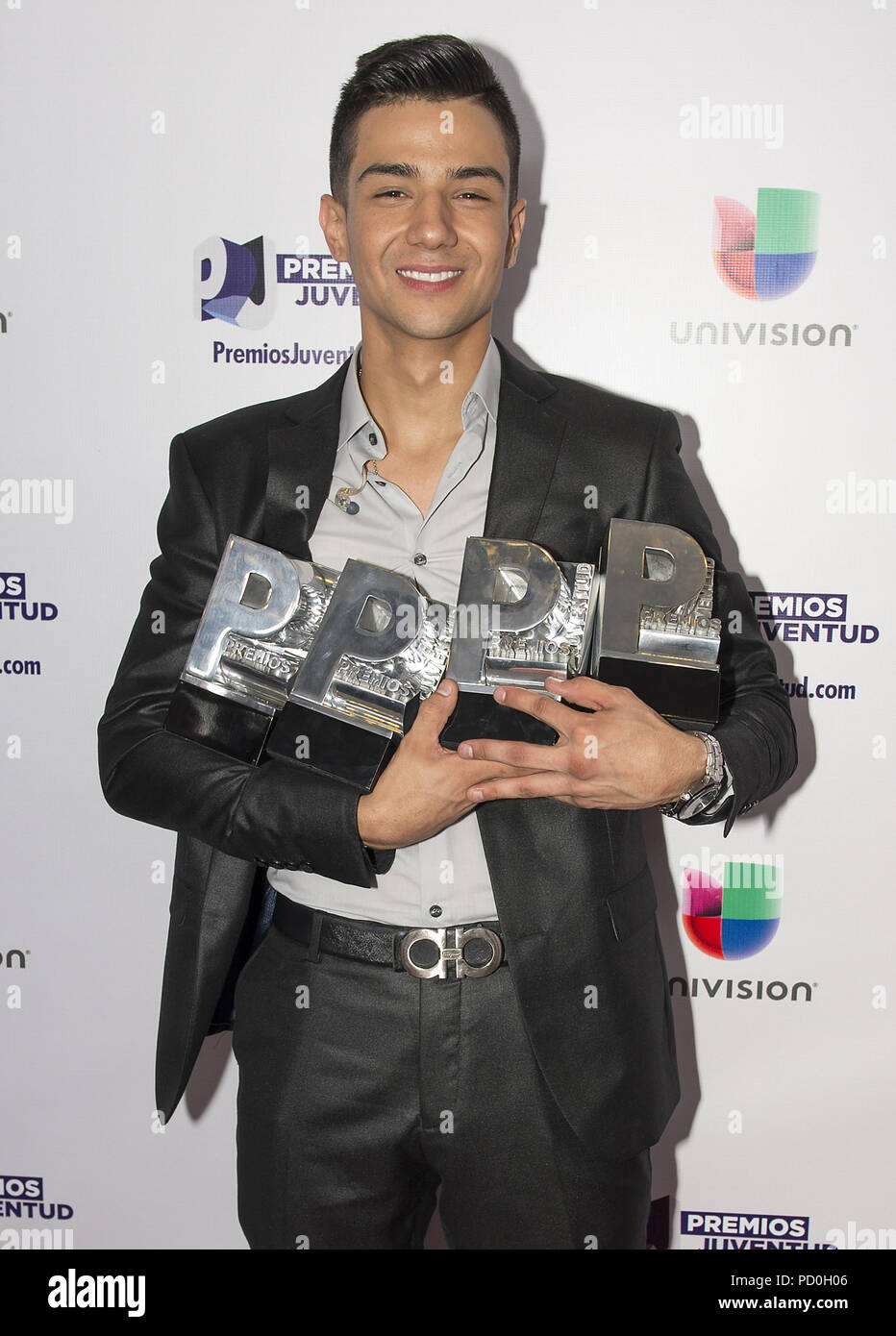 Luis coronel stock photos luis coronel stock images alamy miami fl july 16 luis coronel attends univisions premios juventud 2015 at bank m4hsunfo
