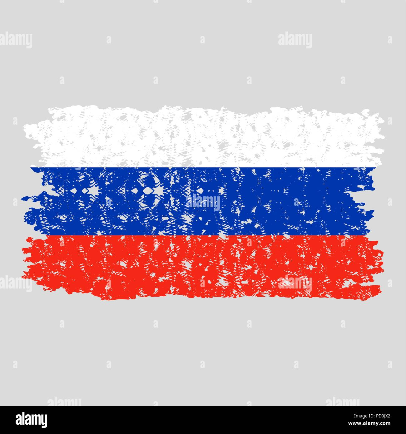 Russia Flag Texture Rusty Russia Flag National Symbol Of Country