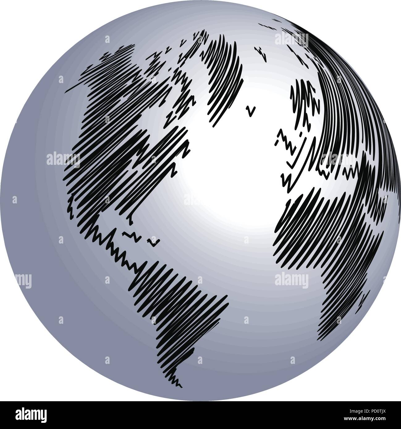 World map globe scribble template design element stock vector art world map globe scribble template design element gumiabroncs Choice Image