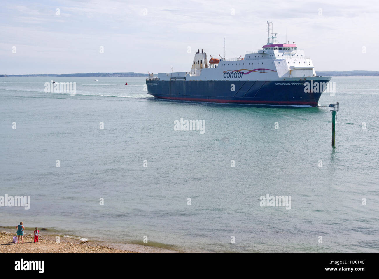 Commodore Goodwill roll on roll off ferry - Stock Image
