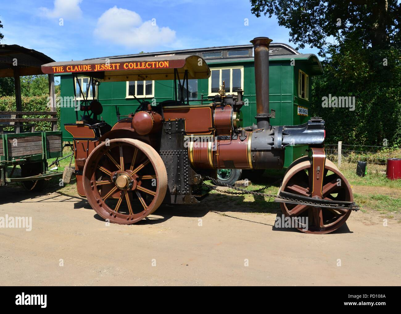 Steam Traction Engine 1900s Stock Photos & Steam Traction ...