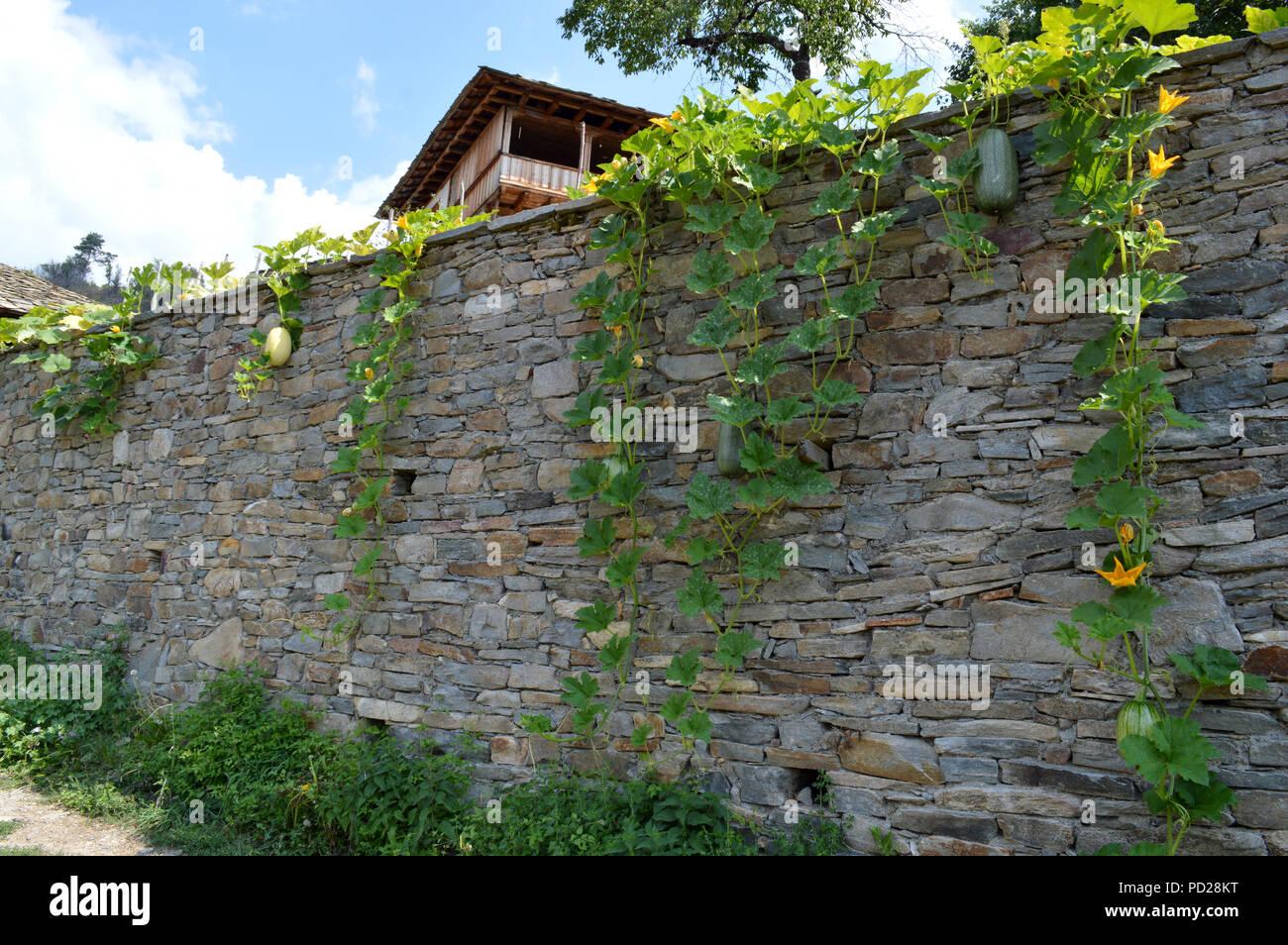 Kovatchevitca Village-Museum, Rhodopes Mountain - Stock Image