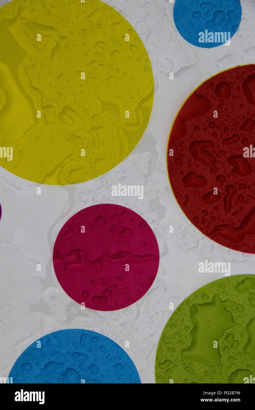 Circles And Drops Stock Photo