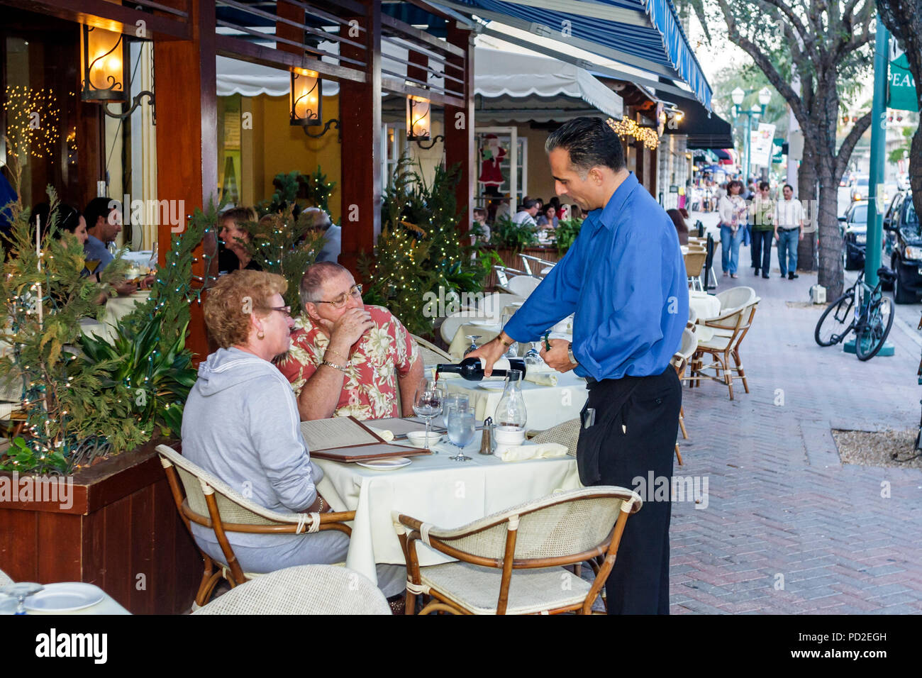 Florida Delray Beach Atlantic Avenue Tramonti Italian
