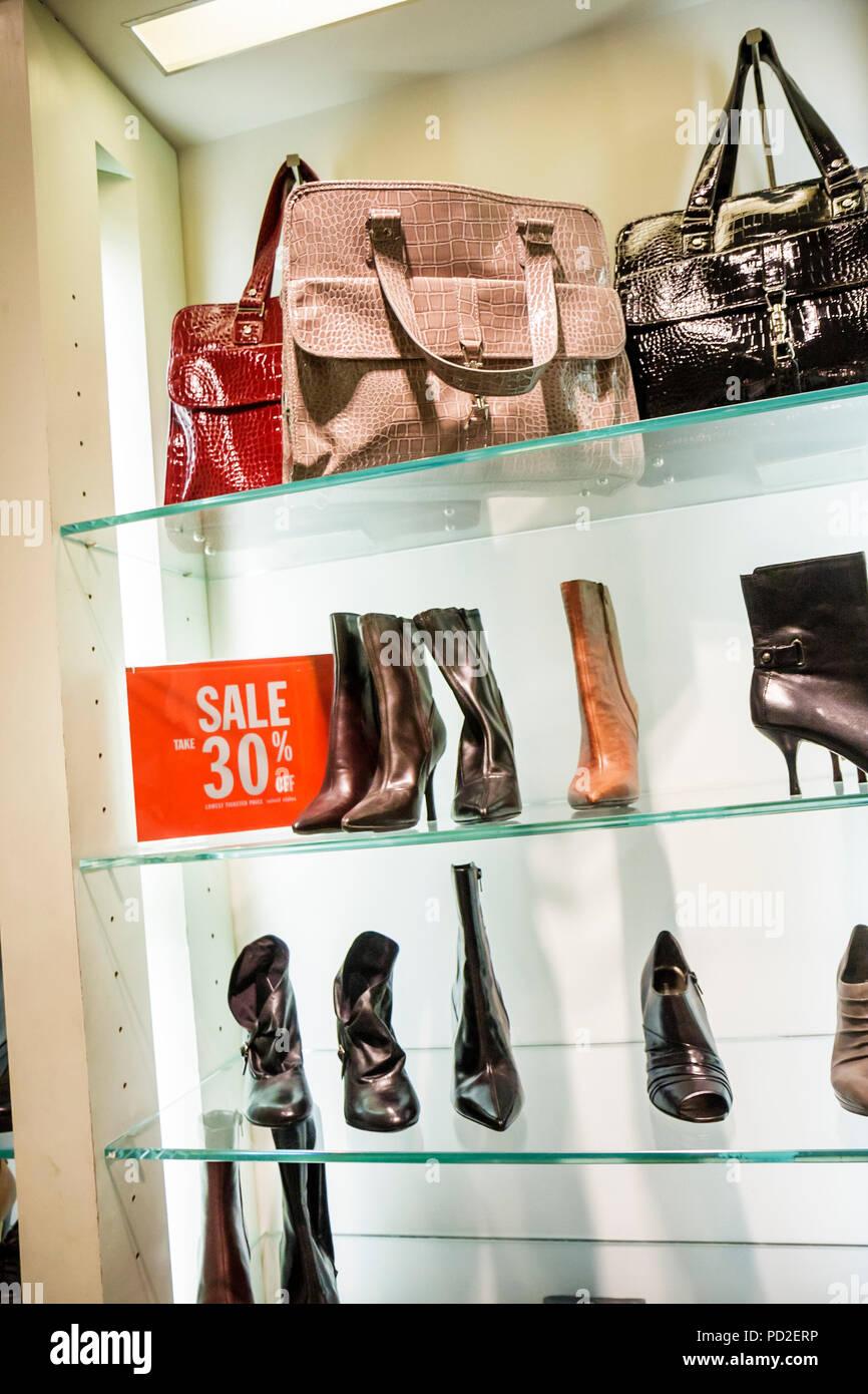 7421e2477cee87 Miami Beach Florida South Beach Collins Avenue Nine West upscale shopping boutique  business women s shoes retailer