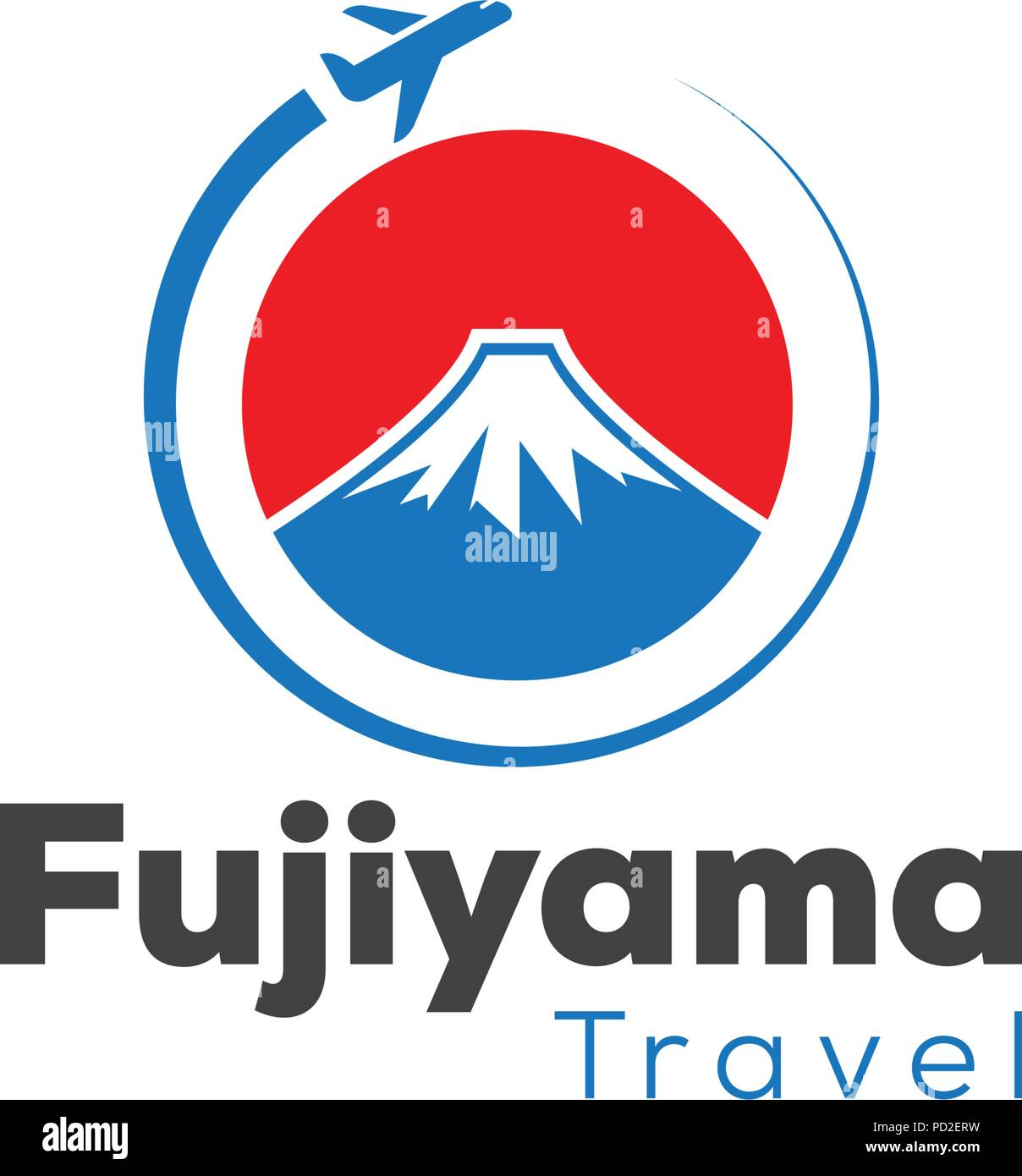 Japan Travel And Tour Logo Icon Template Stock Vector Image Art Alamy