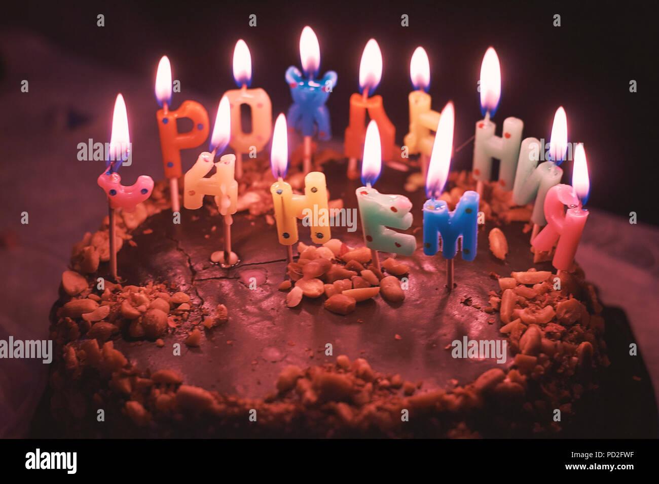 Delicious Childrens Chocolate Birthday Cake