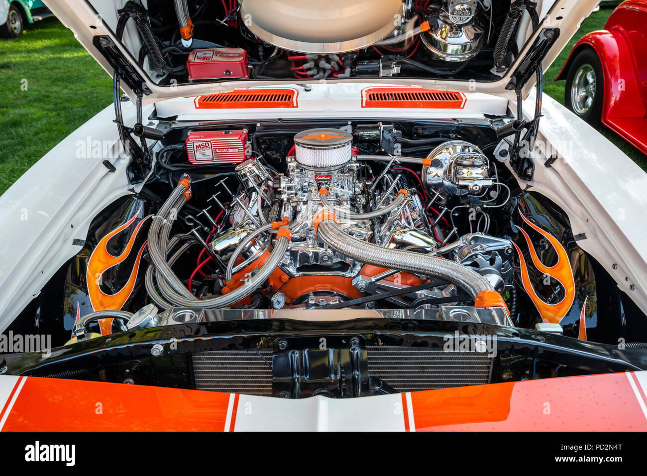 Chevrolet Camaro Engine High Resolution Stock Photography And Images Alamy
