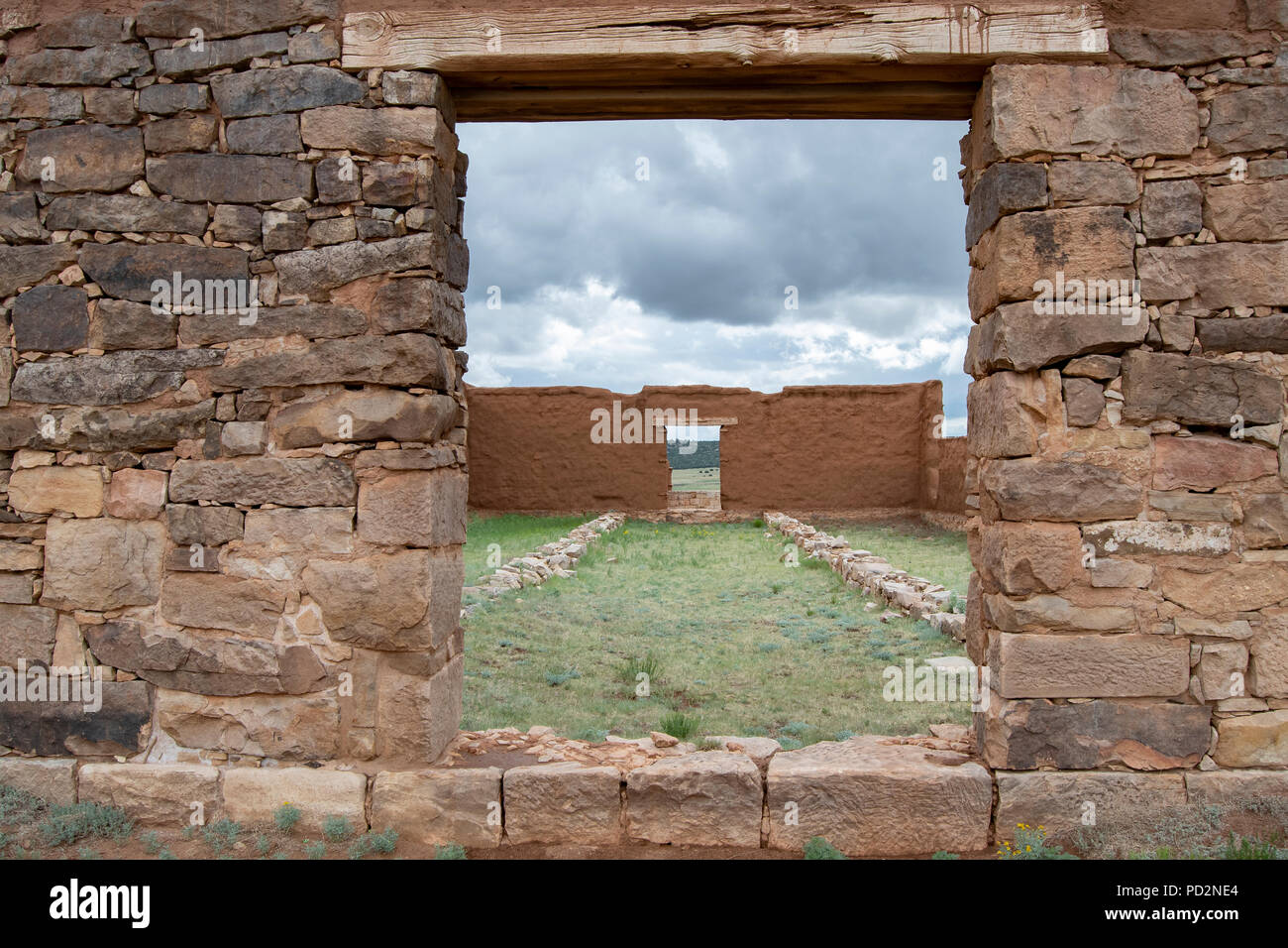 Fort Union NM, Mora County, NM, USA, by Dominique Braud/Dembinsky Photo Assoc - Stock Image