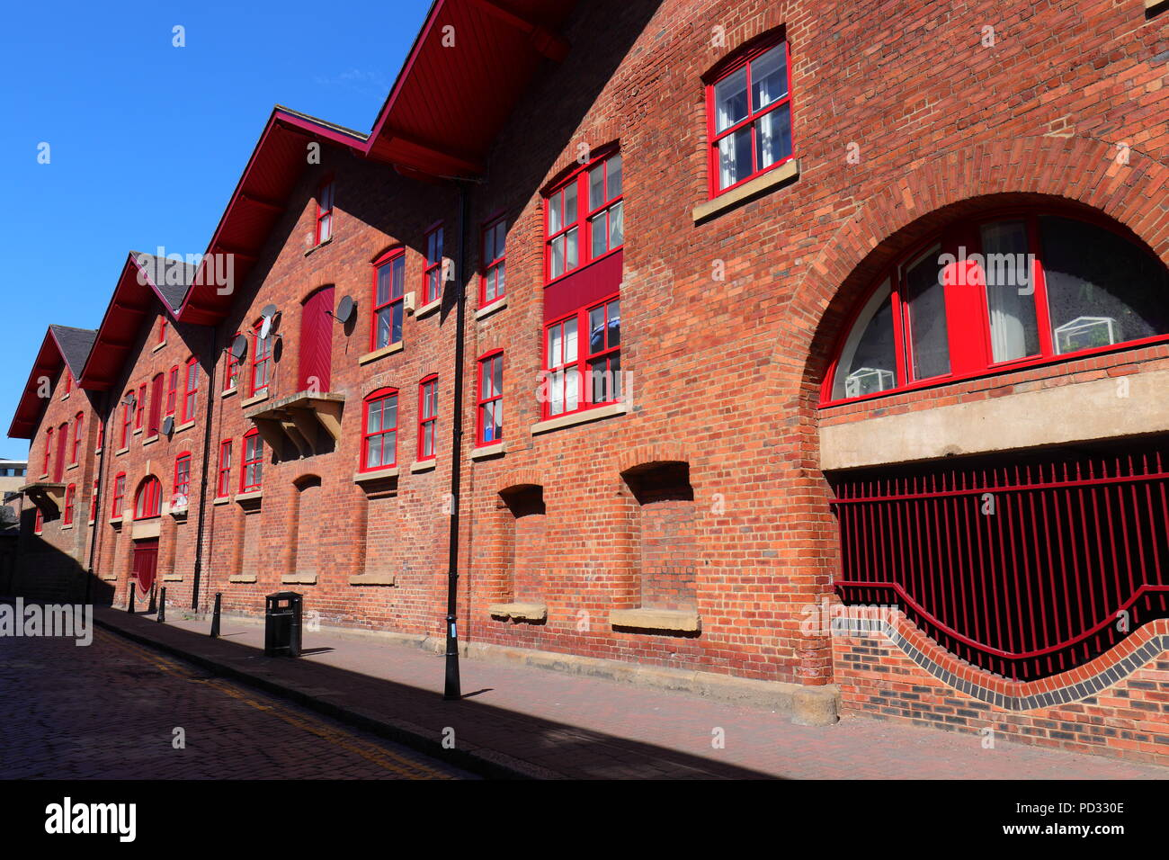 Apartments on Dock Street in Leeds City Centre - Stock Image
