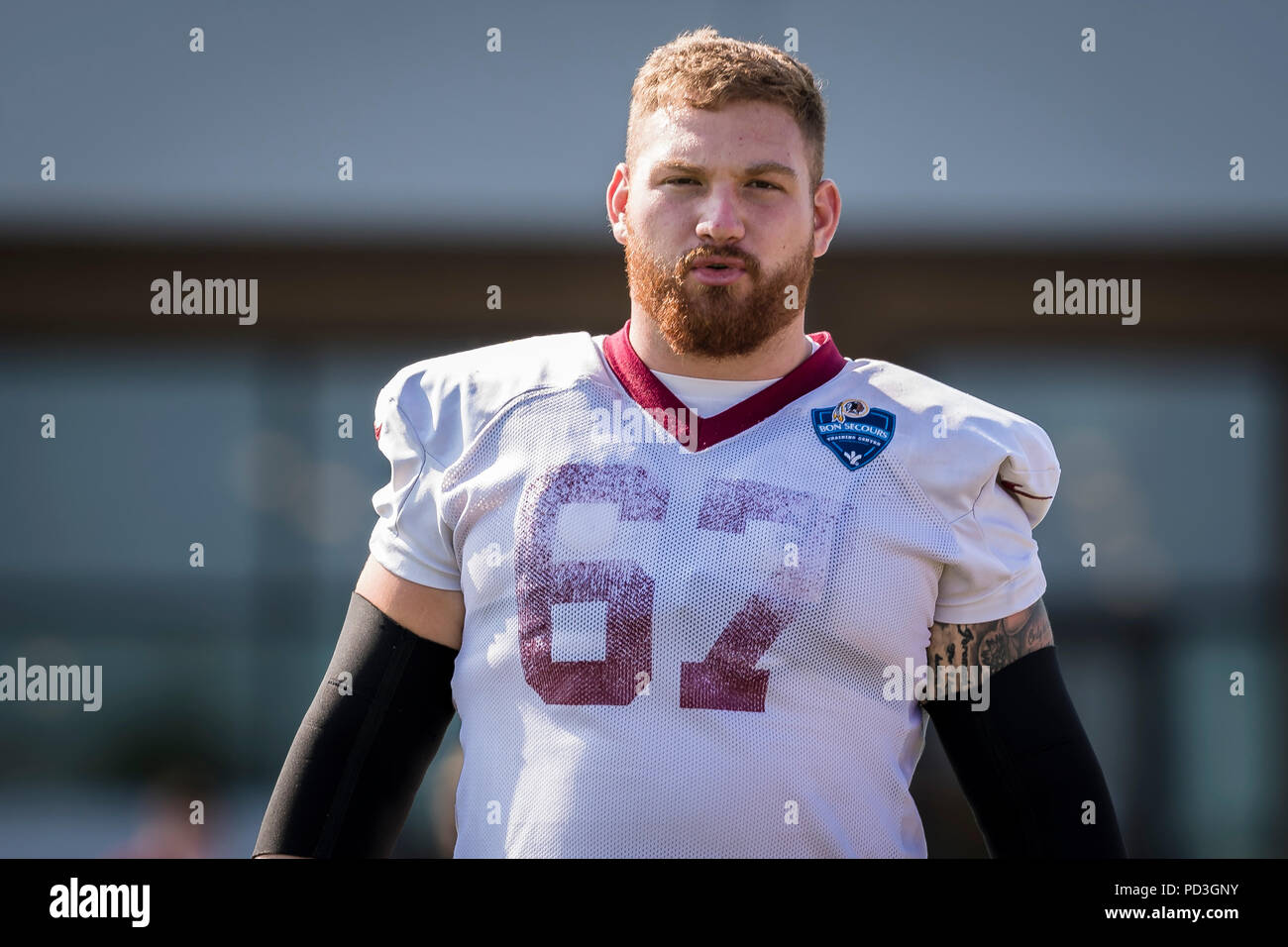 timeless design 59479 b10ad August 06, 2018: Washington Redskins offensive guard Kyle ...